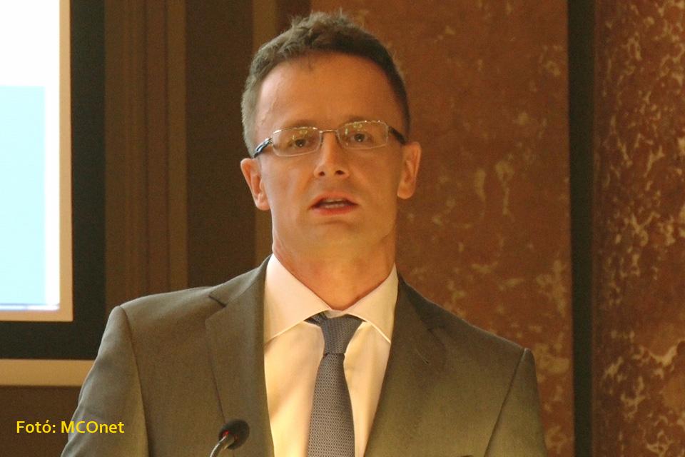 Szijjártó Péter, a külgazdasági és külügyminiszter
