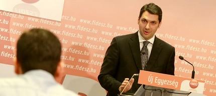 Lázár János, a Fidesz frakcióvezetője