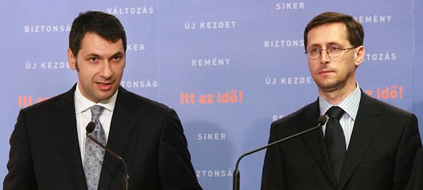 Lázár János és Varga Mihály