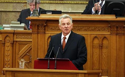 Schmitt Pál, az Országgyűlés elnöke