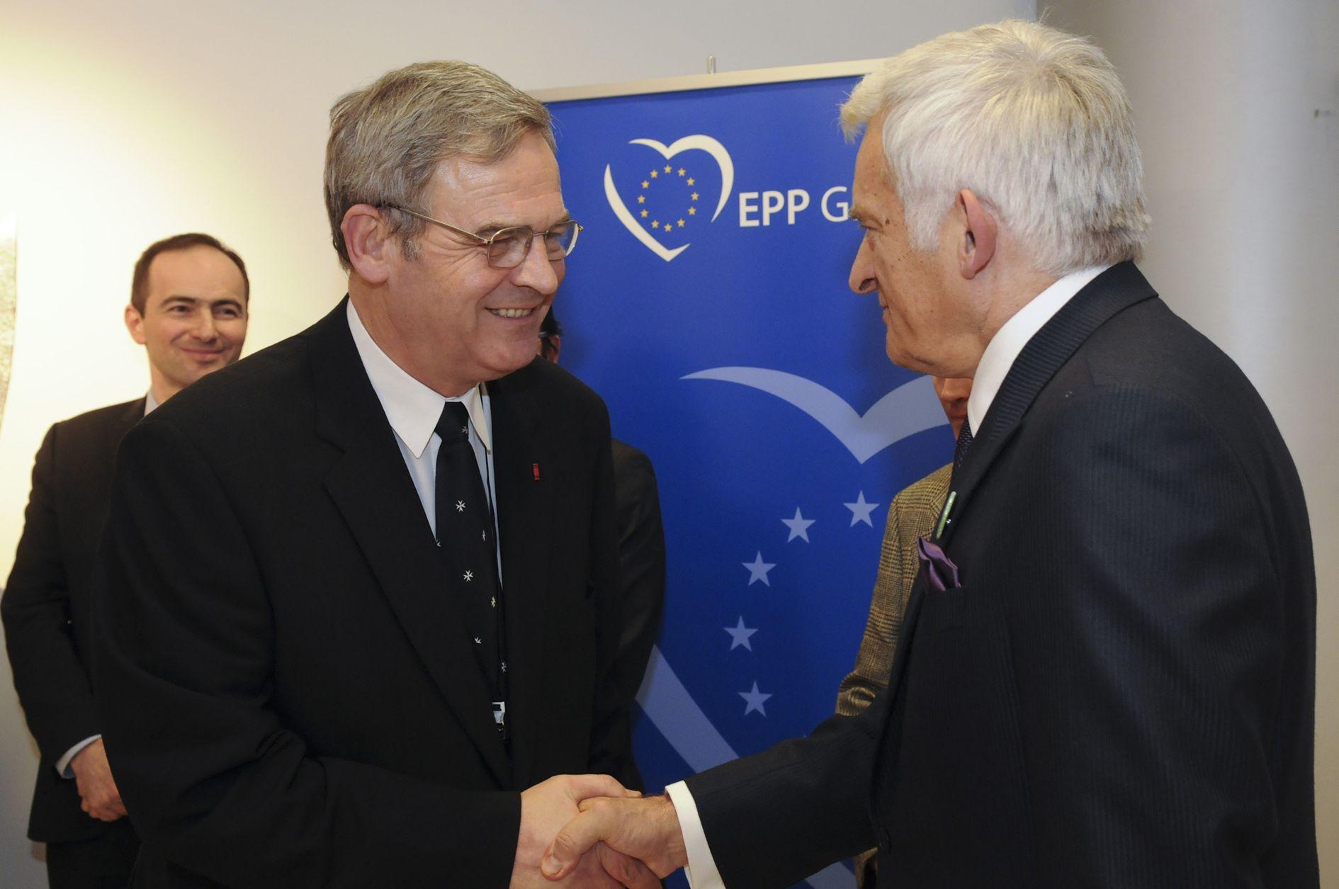 Tőkés László és Jerzy Buzek