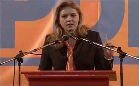 Roberta Anastasé a román képviselőház elnöke