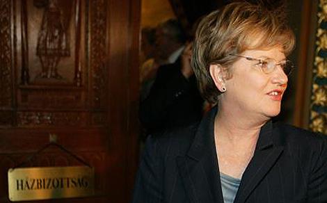 Szili Katalin, a Szociális Unió elnöke