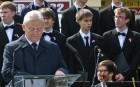 Tarlós István felavatta a katinyi vérengzés áldozatainak emlékművét