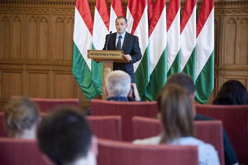 Budai Gyula elszámoltatási kormánybiztos. Fotó: Hornyák Dániel