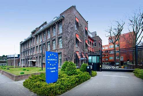 Az Europol épülete.