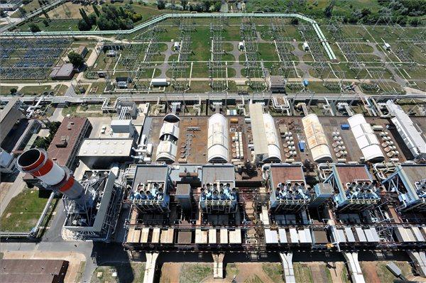 Az új, G3-as blokk 407 megawattos beépített villamos teljesítményével a Dunamenti Erőmű kapacitása 1900 megawattra nőtt. MTI Fotó: Máthé Zoltán