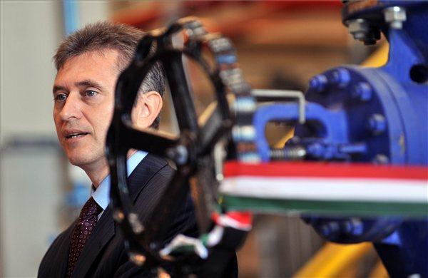 Bencsik János, a Nemzeti Fejlesztési Minisztérium klíma- és energiaügyért felelős államtitkár. MTI Fotó: Máthé Zoltán