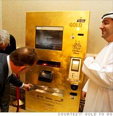Nemrég helyezték üzembe azt az aranytömb automatát, melyet a német Ex Oriente Lux Ag tervezett