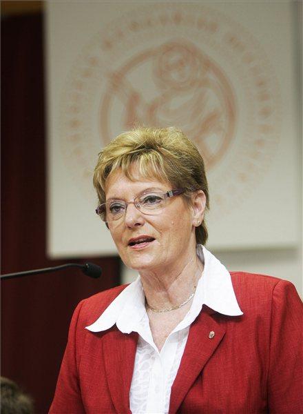Hoffmann Rózsa oktatási államtitkár. Fotó: MTI
