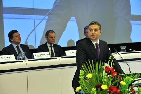 Európai egység és együttműködés. Fotó: Burger Barna