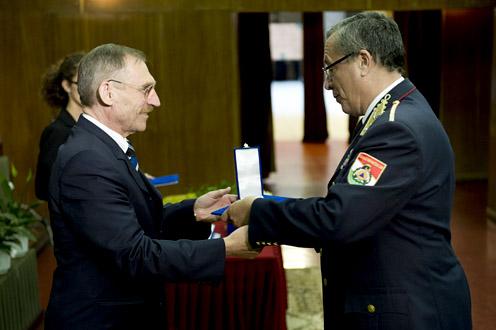 Pintér Sándor belügyminiszter és Bakondi György. Fotó: BM