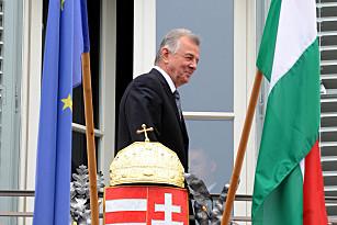 Schmitt Pál köztársasági elnök. Fotó: MTI