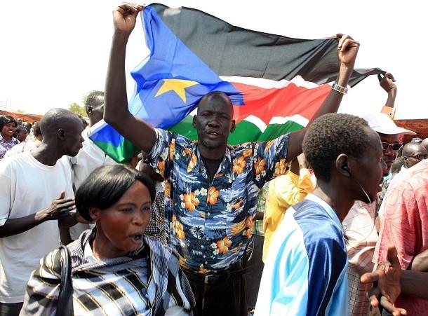 Szudán ünnepel. Fotó: Reuters