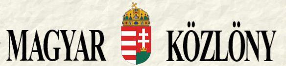 Magyar Közlöny logó