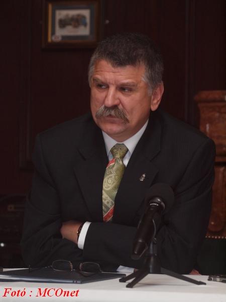 Dr. Kövér László az Országgyűlés elnöke