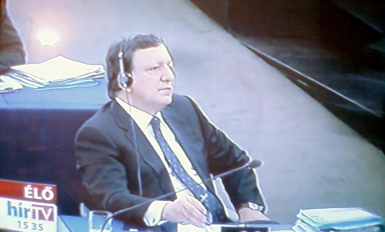 A José Manuel Barrosó