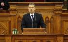Orbán Viktor az uniós paktumról beszélt a tavaszi ülésszak első napján