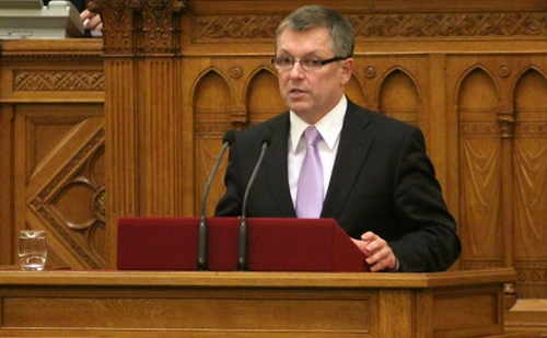Matolcsy György nemzetgazdasági miniszter