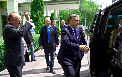 Demján Sándor, Orbán Viktor