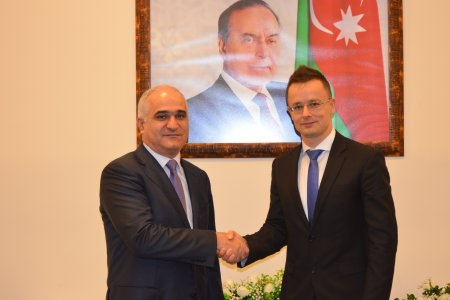Szijjártó Péter megbeszélése Shahin Mustafayev gazdaságfejlesztési miniszterrel