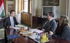 A magyar-amerikai gazdasági együttműködés fejleményeiről is tárgyaltak