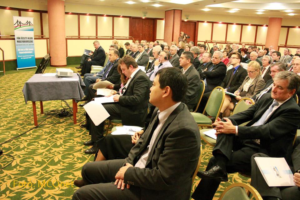 Az eurázsiai országok és Magyarország együttműködésének lehetőségei a 'Keleti nyitás' program keretében című konferenciát