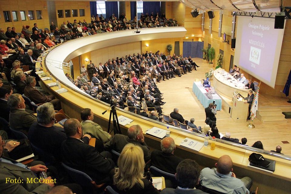 Országos Polgárőr Szövetség , közgyűlés 2014, Pintér Sándor