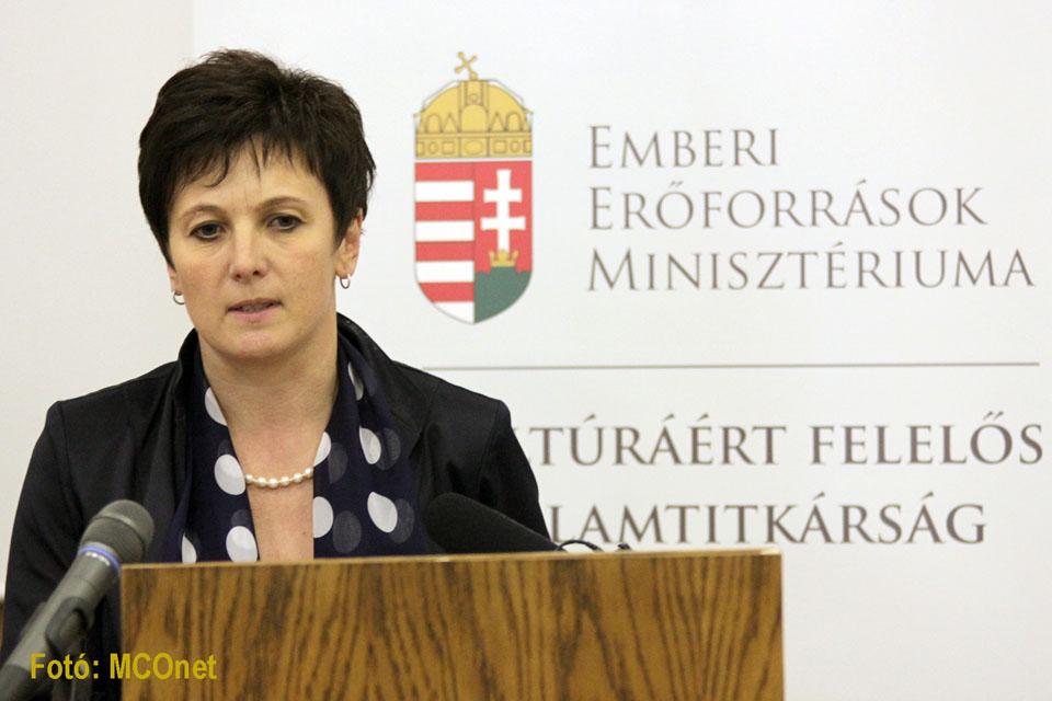 Závogyán Magdolna kultúráért felelős államtitkár
