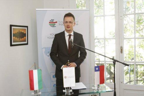 Magyarország az Európai Unió és a Chile közötti társulási megállapodás mellett áll