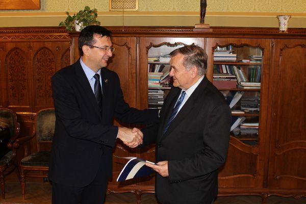 Domokos László, az Állami Számvevőszék elnöke; Lezsák Sándor, az Országgyűlés alelnöke