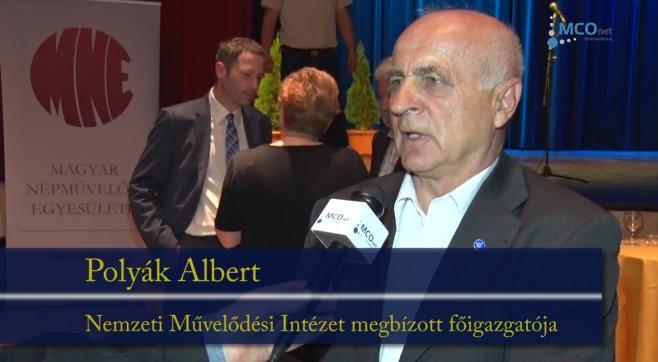 Polyák Albert, a Nemzeti Művelődési Intézet (NMI) megbízott főigazgatója