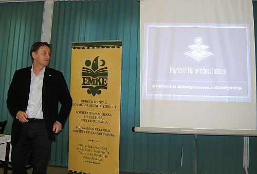 Bretus Imre, a Nemzeti Művelődési Intézet Stratégiai Fejlesztési Főosztályának vezetője