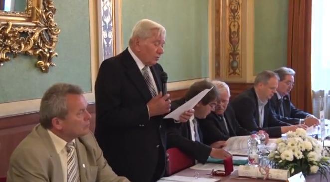 Kurucz Zsigmond tiszteletbeli örökös elnök, IPOSZ