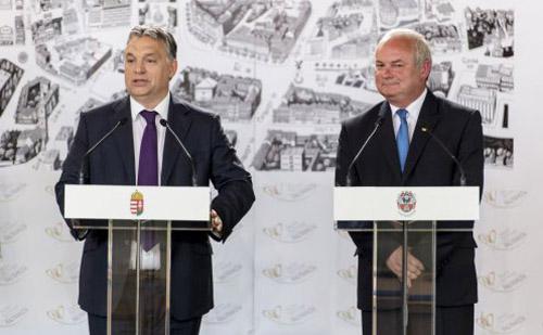 A Modern Városok program keretében Nagykanizsával is együttműködést kötött a kormány