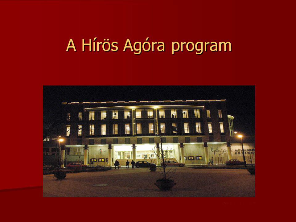 Hírös Agóra Kulturális és Ifjúsági Központ, beruházás, Závogyán Magdolna