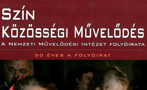 Závogyán Magdolna és Polyák Albert interjújával jelent meg a Szín Közösségi Művelődés magazin