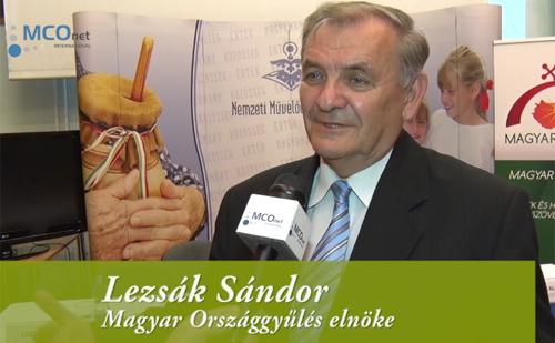 Lezsák Sándor, a Magyar Országgyűlés alelnöke i