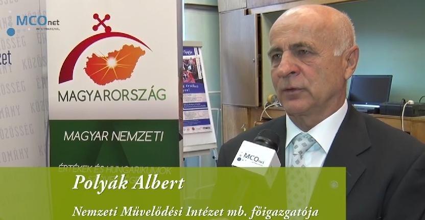 Interjú Polyák Alberttel, a Nemzeti Művelődési Intézet mb. főigazgatójával