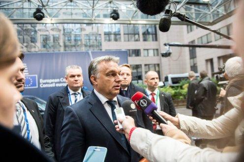 Orbán Viktor, Brüsszel