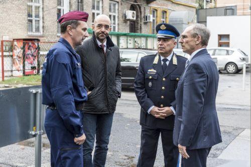 Szlovák rendőrök érkeztek hazánkba, hogy védjék az EU schengeni határait