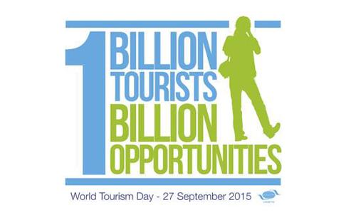 "A Turizmus Világnapjának 2015-ös mottója: ""1 billion tourists, 1 billion opportunities"" - 1 milliárd turista, 1 milliárd lehetőség"