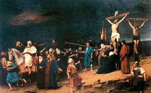 Kezdeményezték a Golgota című festmény védési eljárását