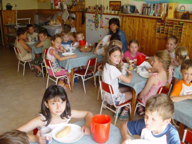 Gyermek étkeztetés