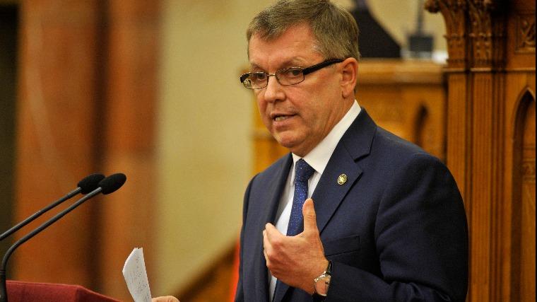 Matolcsy György, a Magyar Nemzeti Bank (MNB) elnöke (MTI-fotó: Kovács Attila)