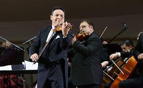 Tapsvihar a Wiener Konzerthausban a II. Magyar Újévi Koncerten