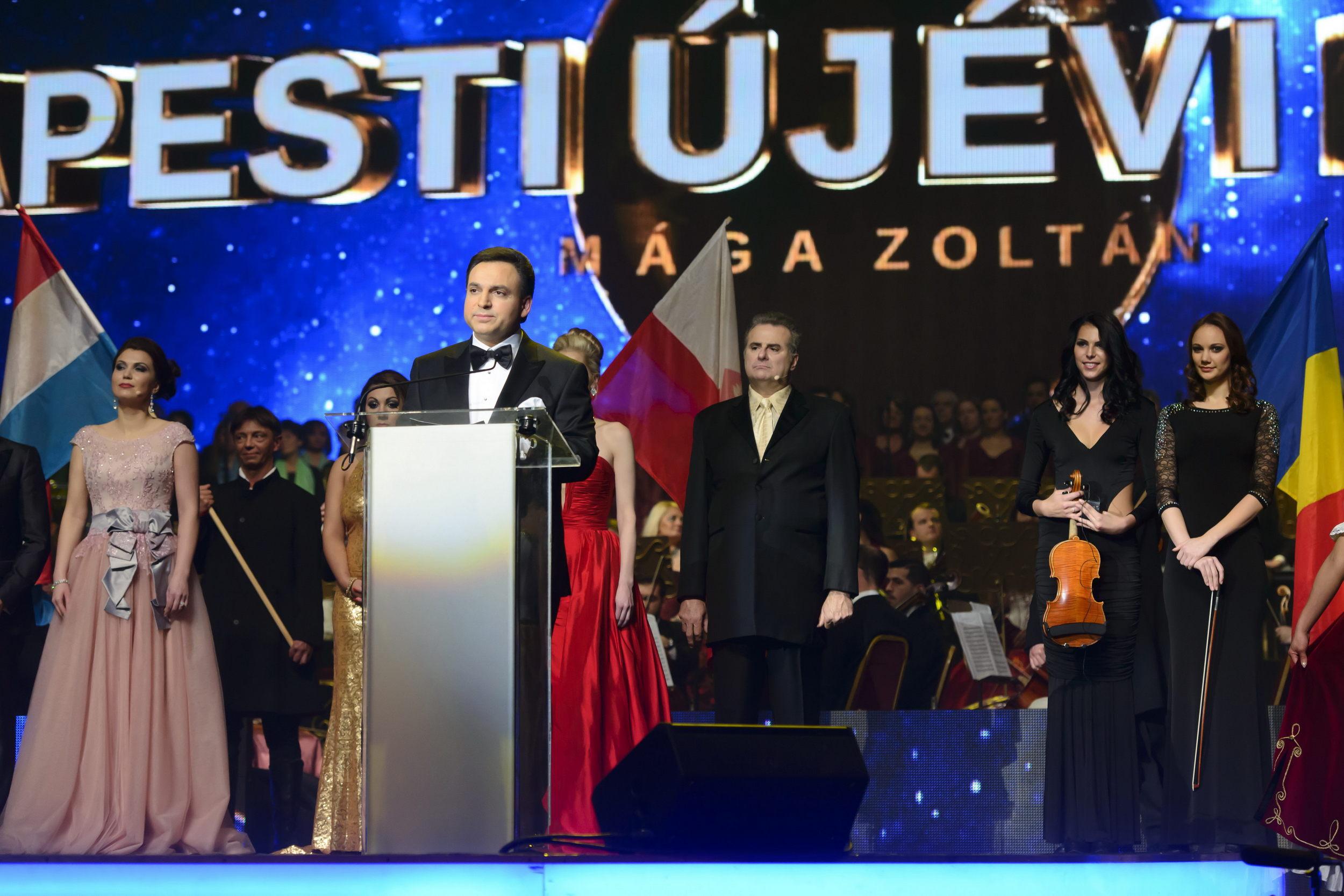 Világsztárok és a Nemzet Színészei Mága Zoltán VIII. Budapesti Újévi Koncertjén