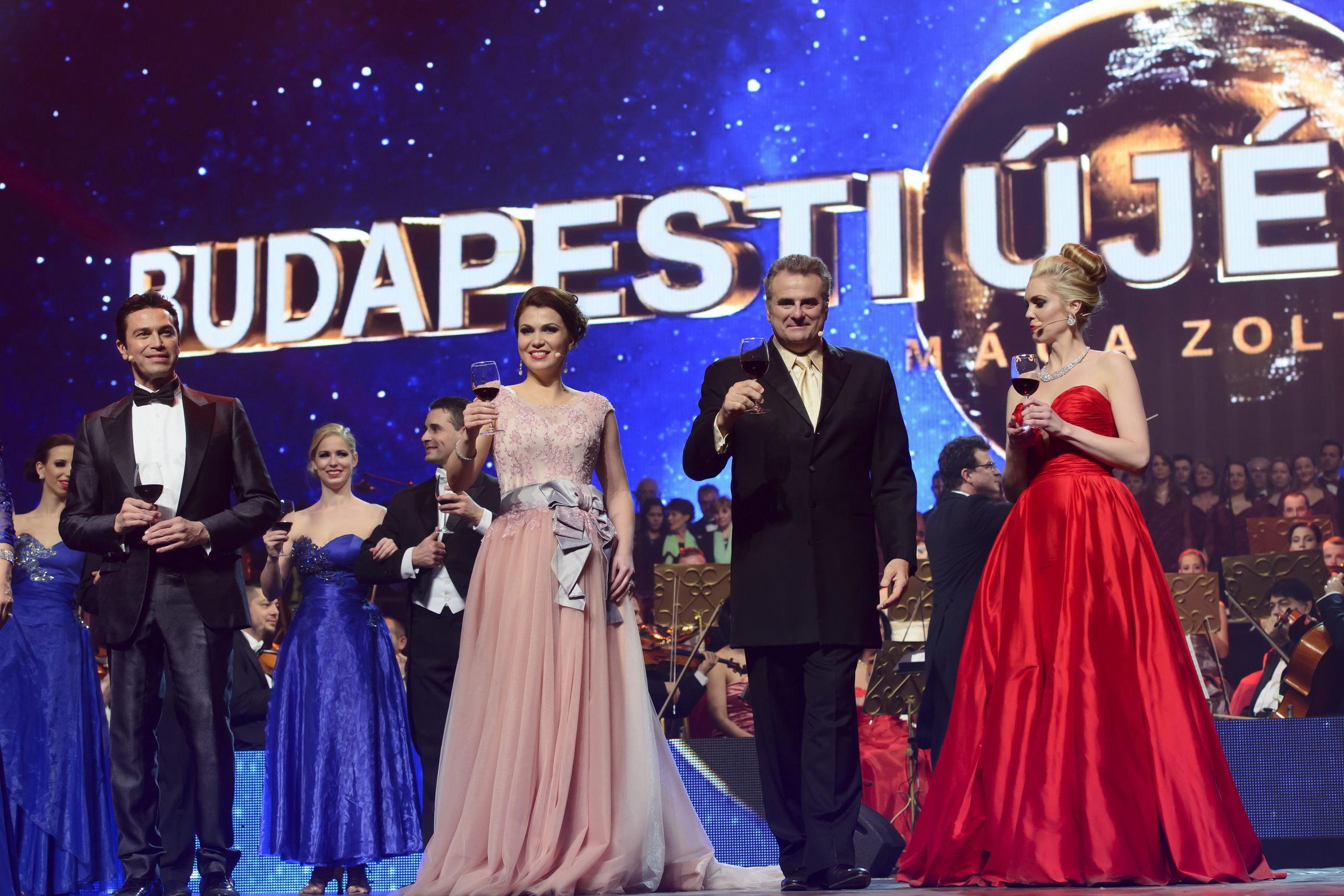 Mario Frangoulis, Ekaterina Lekhina, Marcello Giordani és Micaëla Oeste