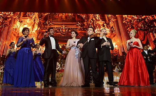 Georgina von Benza,Mario Frangoulis, Ekaterina Lekhina, Marcello Giordani és Micaëla Oeste