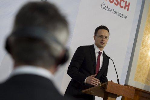 Bosch: 19 milliárdos fejlesztés Hatvanban, 601 új munkahely